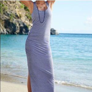 Victoria's Secret Ruched Maxi Dress